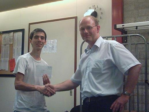 Jeffrey van Vliet wint PK